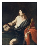David with the Head of Goliath Art by (Francesco Mazzola) Parmigianino