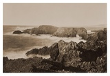 Coast View off Mendocino, California, 1863 Posters by Carleton Watkins