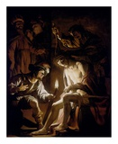 Christ Crowned with Thorns Kunstdrucke von Gerrit Van Honthorst