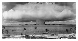 Bikini Atoll - Operation Crossroads Baker Detonation - July 25, 1946: DBCR-T1-318-Exp 2 AF434-6 Prints by  U.S. Navy