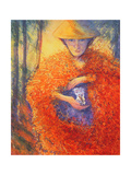 The Keeper of the Flowers, 2004 Giclee Print by Silvia Pastore