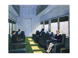 Chair Car, 1965 Giclee Print by Edward Hopper