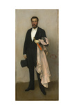 Portrait of Theodore Duret, 1883 Giclee Print by James Abbott McNeill Whistler