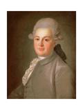 Portrait of Senator Count Artemy Vorontsov (1748-1813), after 1768 Giclee Print by Fedor Stepanovich Rokotov