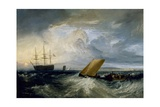 Sheerness as seen from the Nore, 1808 Giclee Print by Joseph Mallord William Turner