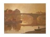 Night, Kew Bridge, 1989 Giclee Print by Trevor Chamberlain