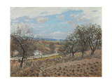 Bougival, 1876 Giclee Print by Alfred Sisley