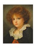 Boy in a Red Waistcoat, c.1775-80 Giclee Print by Jean Baptiste Greuze