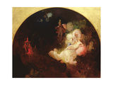 There Sleeps Titania Giclee Print by Robert Huskisson
