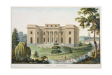 Chateau at Vinderhaute Giclee Print by Pierre Jacques Goetghebuer