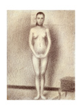 "Study for ""Les Poseuses"", 1886 Giclee Print by Georges Seurat"