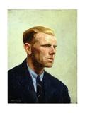 Portrait d'homme Reproduction procédé giclée par Edward Hopper