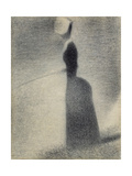 A Woman Fishing, 1884 Giclee Print by Georges Seurat