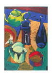 Blue Jug Giclee Print by Paul Powis