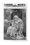 Mr Henry Irving as King Lear Giclee Print by Bernard Partridge