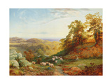 The Young Shepherd Giclee Print by George Vicat Cole