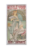 Nestle's Food for Infants, 1897 Giclee Print by Alphonse Mucha