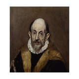 Portrait of an Old Man, c.1590–1600 Giclee Print by  El Greco