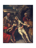 The Entombment, 1554 Giclee Print by Alessandro Bonvicino Moretto