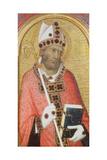 St. Geminianus, c.1319 Giclée-tryk af Simone Martini