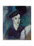 The Jewess; La Juive, c.1907-1908 Giclee Print by Amedeo Modigliani