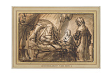 The Benediction of Isaac Giclee Print by  Rembrandt van Rijn