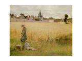 A Summer Meadow, 1887 Giclee Print by Henri Alphonse Louis Laurent-desrousseaux