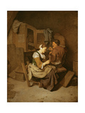 Couple in an Interior Giclee Print by Cornelis Bega