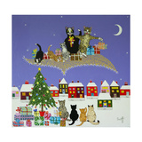 Christmas Magic Giclee Print by Pat Scott