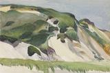 Dune at Truro, 1930 Reproduction procédé giclée par Edward Hopper