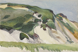 Dune at Truro, 1930 Stampa giclée di Edward Hopper