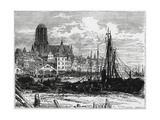 View of Frankfort-On-The-Main with the White Ladies Church in the Background Giclee Print by William Henry James Boot
