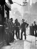 Recruiting Sergeants, from 'Street Life in London', by J. Thomson and Adolphe Smith, 1877 Photographic Print by John Thomson