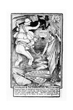 Socialism and the Imperialistic Will O the Wisp, 1901 Giclee Print by Walter Crane