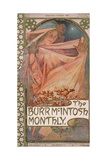 The Burr McIntosh Monthly, 1903-10 Giclee Print by Alphonse Mucha