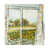 Through the Cottage Window Suffolk, 2010 Giclee Print by Joan Thewsey