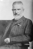George Bernard Shaw, 1914 Photographic Print by George Grantham Bain