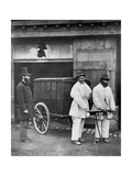 Public Disinfectors, from 'Street Life in London', 1877 Giclee Print by John Thomson