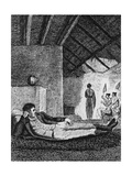 Park Resting in a Native Hut During His Travels, 1816 Giclee Print by Mungo Park