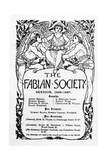 The Fabian Society Report, 1886-7 Giclee Print by Walter Crane