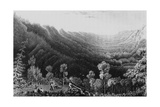 Vale of the Clearwater River from the Methye Portage, 1828 Giclee Print by George Back