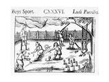 Boys' Sport from 'Orbis Sensualium Pictus', 1658 Giclee Print by John Amos Comenius