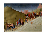 The Journey of the Magi, c.1433-5 Giclée-tryk af Sassetta,
