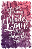 Love Stands Forever Posters