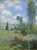 View of Vetheuil, 1880 Giclee Print by Claude Monet