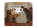 The Chess Players, 1860 Giclee Print by Joseph Clark