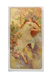 The Seasons: Autumn, 1896 Giclee Print by Alphonse Mucha
