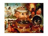 Hieronymus Bosch - Tondal's Vision Digitálně vytištěná reprodukce