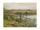 The Riverside, 1862 Giclee Print by John Edward Newton