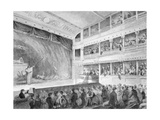 Interior of the Little Theatre, Haymarket in London, 1815 Giclee Print by George Jones